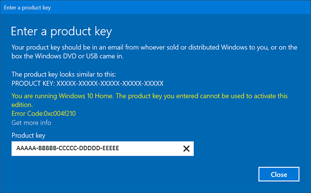 can windows 10 home be upgraded to professional