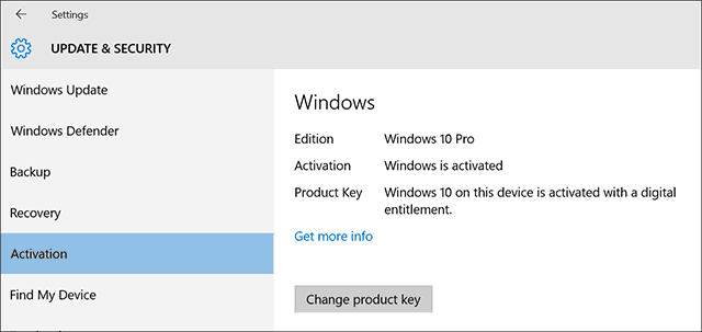 how to reactivate win 10 after upgrade from win 7