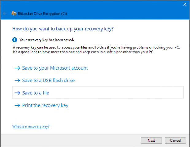 windows 10 drive is locked how to unlock
