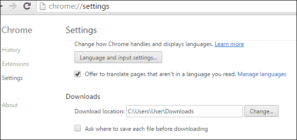 Chrome Downloads 2