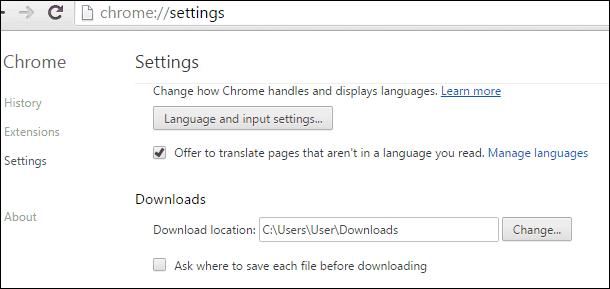 Chrome Downloads 2