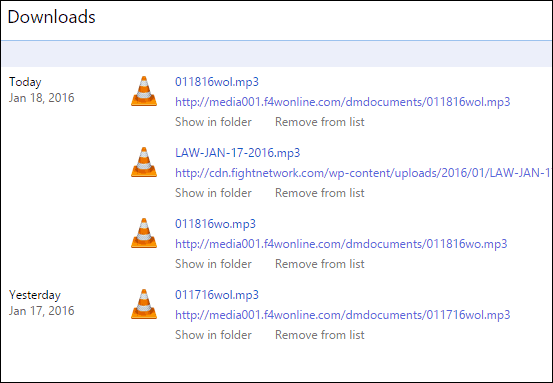 Downloads Chrome