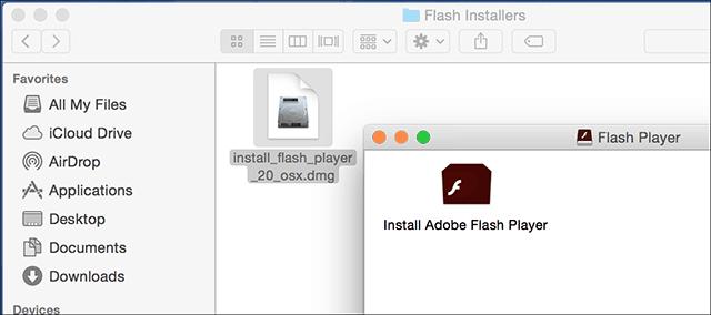 Install Flash 1