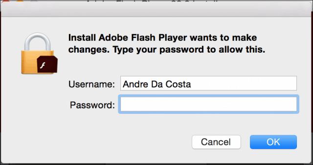 Install Flash 4