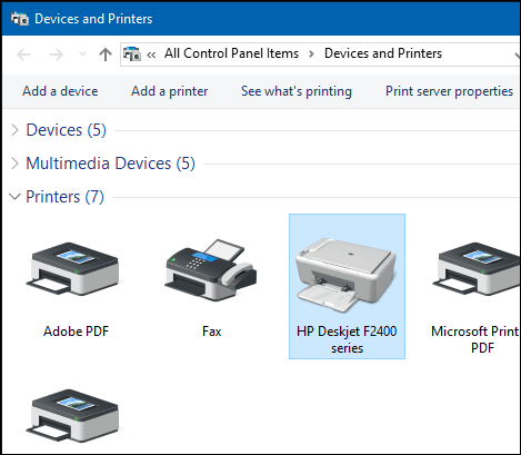 Printer install 4