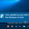 Question notification