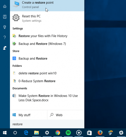Delete Old Windows 10 System Restore Points to Free Up ...