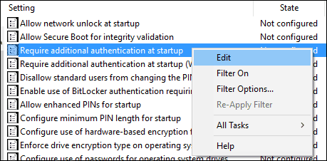 Workaround BitLocker 3