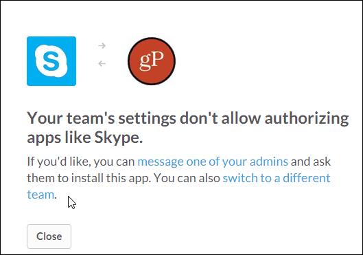 no good for slack n Skype gP