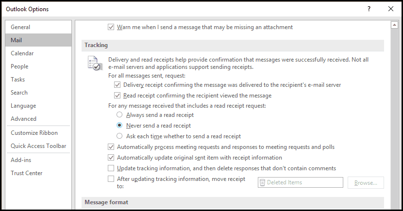 how to change the reading pane in hotmail