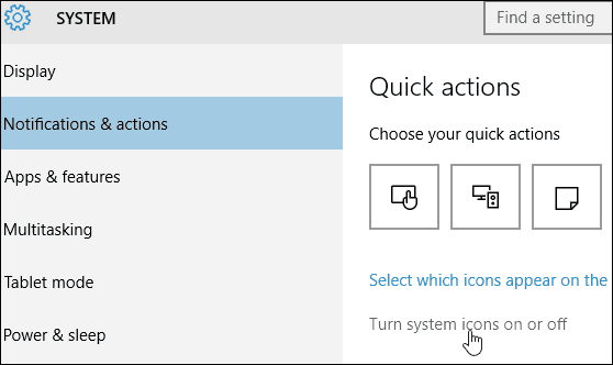 turn off system icons