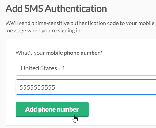 3 enter phone number