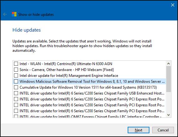 hide update 4