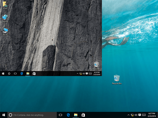 Stop Windows 10 Desktop Icons from Changing Location After a Screen