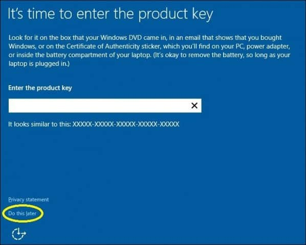 windows product key on asus laptop