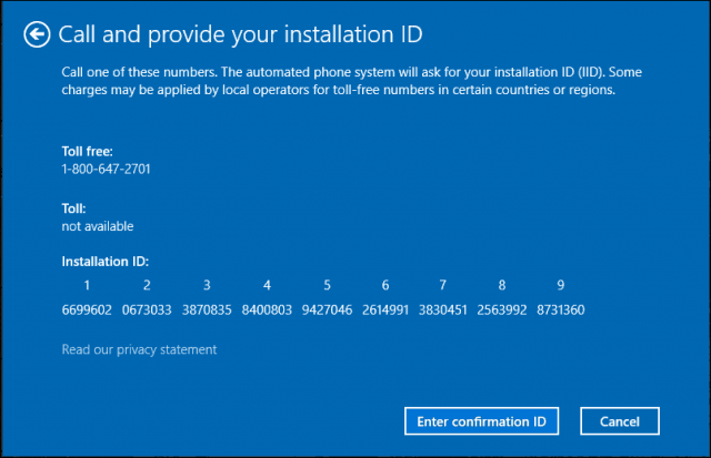 windows activation number usa