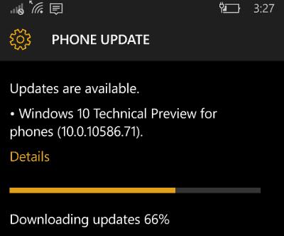 windows 10 mobile 10586-71