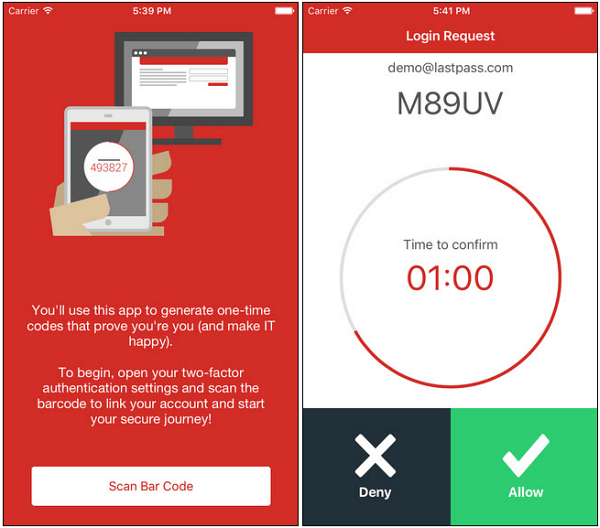 Lastpass authenticator iOS