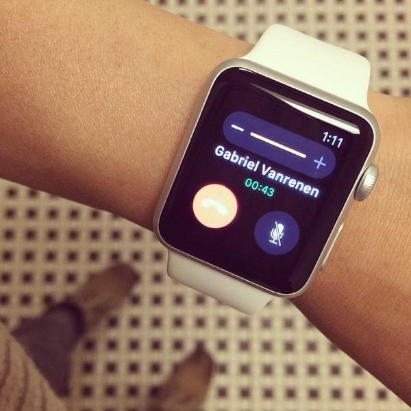 Making an 'inspector gadget' call on my #Apple #Watch!