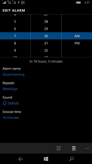 alarms WP