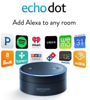 amazon unveils two new alexa powered echo models. Black Bedroom Furniture Sets. Home Design Ideas
