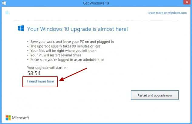 Stop the Windows 10 Upgrade with Never 10 or the GWX App Itself