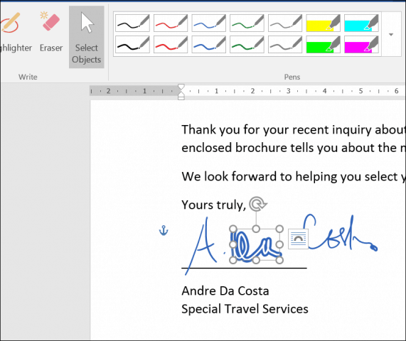 Inking In Word Also Supports Entering Mathematical Formulas If You Prefer Writing Instead Of Typing Can Activate The Touch Keyboard And Enter Text