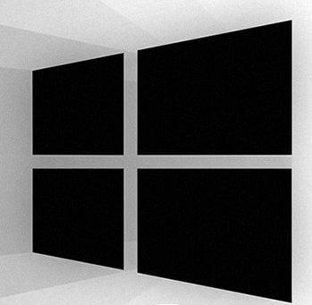 Windows 10 black