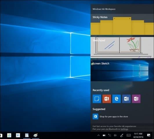 Windows Inking Gallery FIX