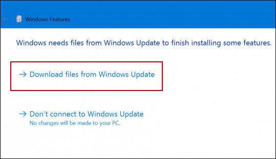 .net install windows update