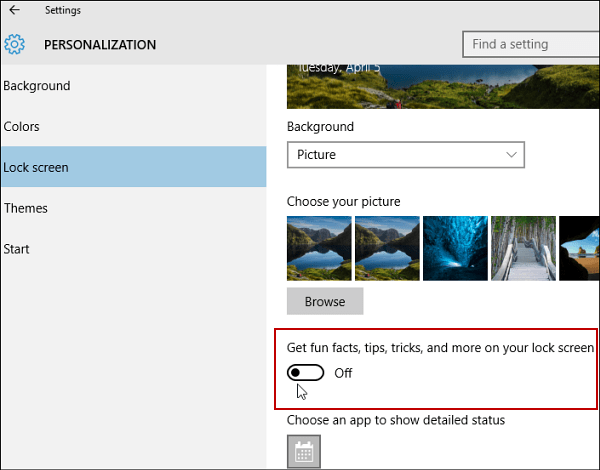 How to Turn Off Windows 10 Lock Screen Ads