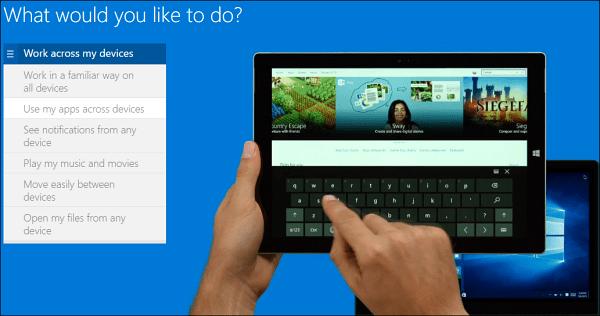 using Windows 10
