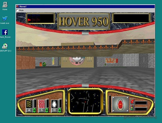 Hover Windows 95 Browser