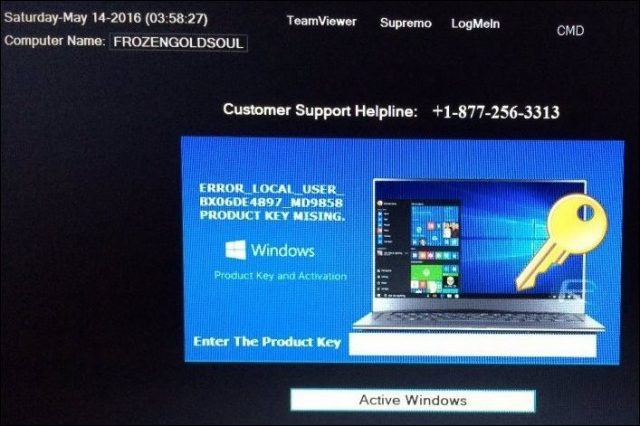 PSA: Beware of Windows 10 Activation Tech Support Scams