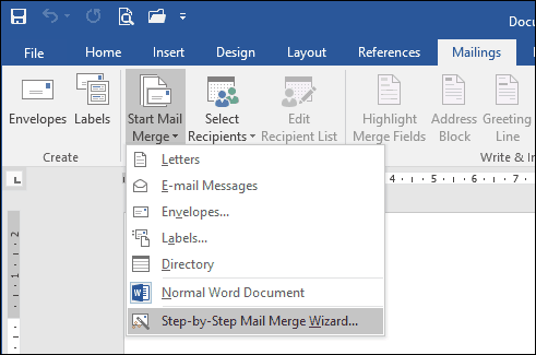 How to Use Mail Merge in Microsoft Word to Create Batch Documents