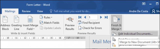 Mail Merge 12