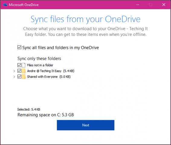 how to delete a onedrive account