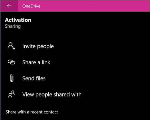 OneDrive app windows 10 8