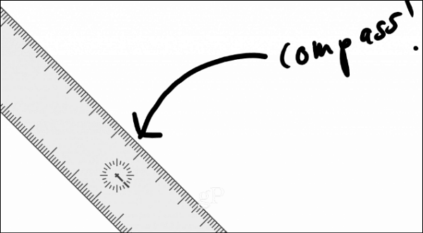 compass Windows ink