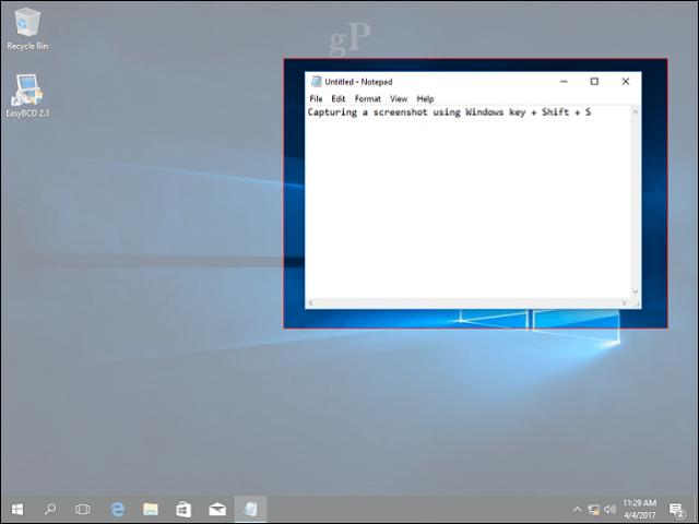 windows screenshot command