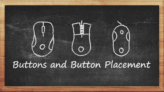 Buttons and Button Placement best mouse buy features guide computer mouse buttons button placement office web browsing back forward MMO commands spells shortcuts gamers gaming illumination LED lights multi-color chroma color design best mouse