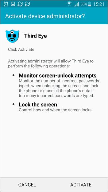 Third Eye device administrator