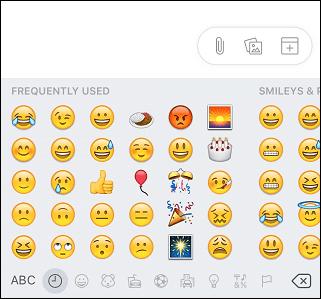 access emoji