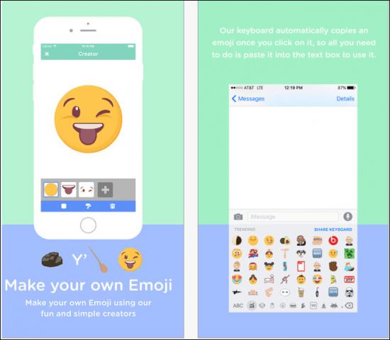 make emoji
