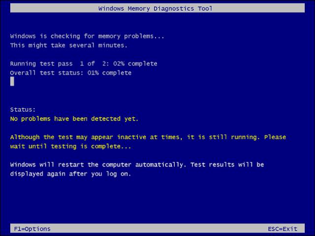 Memtest Windows 10
