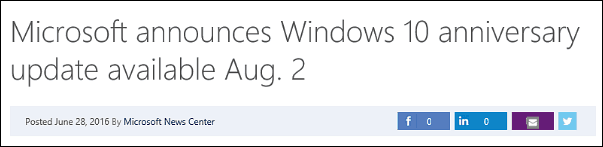 msft headline win10