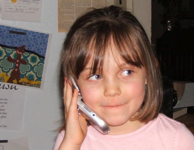A phone expert already!