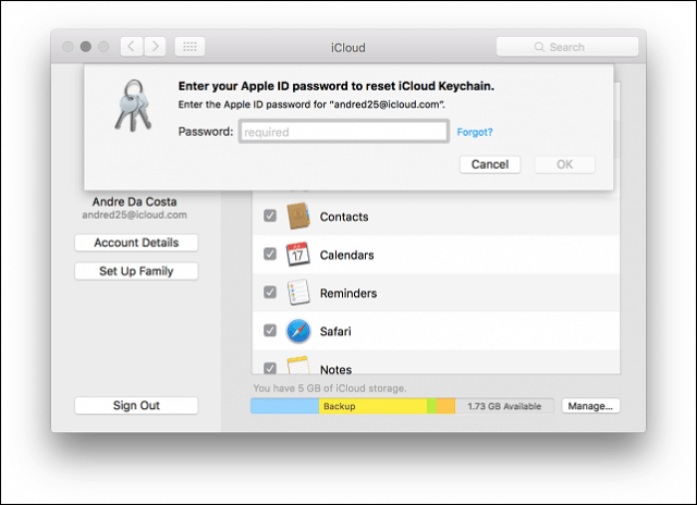 How to Fix iCloud Keychain Requesting Approval
