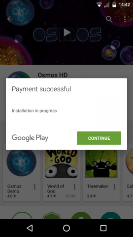 Play Store (2) google play credit free apps store music tv shows movies comic books android opinion rewards surveys location payment successful