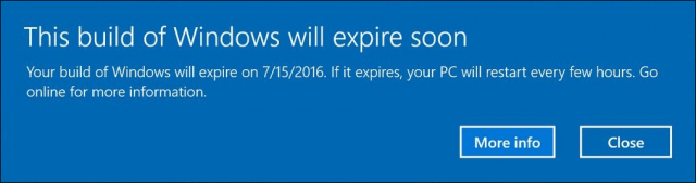 build expire insider